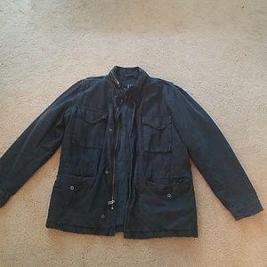 Gap Navy insulated cotton jacket